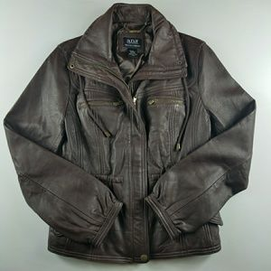 a.n.a Genuine Lambskin Leather Jacket Small
